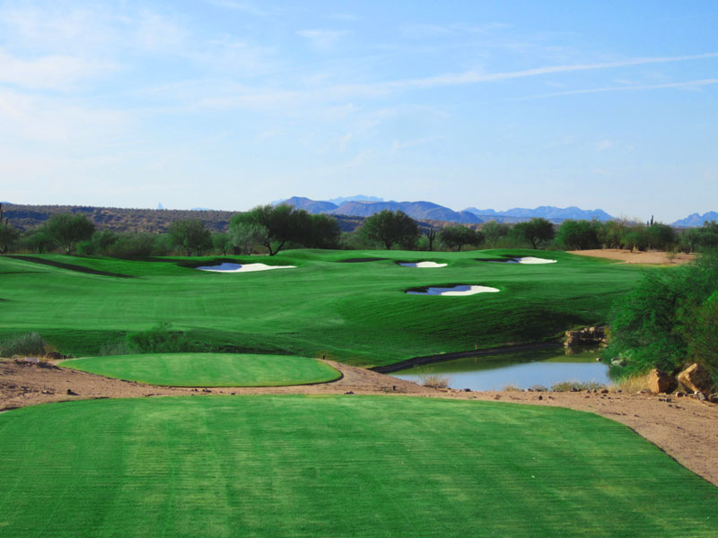 Tonto Verde Golf Course in Scottsdale, AZ